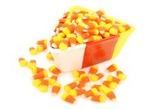 Cereale di caramella in piatto Immagini Stock Libere da Diritti