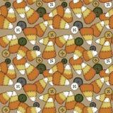 Cereale di caramella senza giunte di arte di piega Immagine Stock