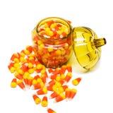 Cereale di caramella in vaso Fotografia Stock