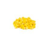 Cereale di seme isolato su fondo bianco Fotografie Stock Libere da Diritti