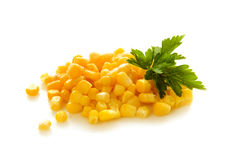 Cereale isolato su bianco Fotografia Stock