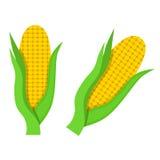 Cereale piano dell'icona Immagine Stock