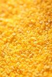 Cereale scheggiato giallo fotografia stock