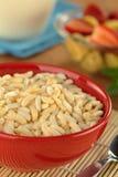 Cereale soffiato del riso Fotografia Stock Libera da Diritti