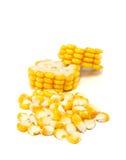 Cereale su fondo bianco immagini stock