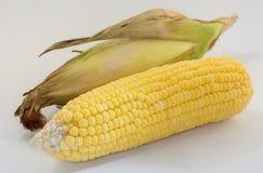 Cereale su fondo bianco Fotografie Stock