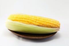 Cereale su fondo bianco Fotografie Stock Libere da Diritti