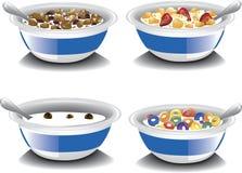 Cereales de desayuno clasificados Imagen de archivo libre de regalías