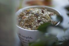 Cereales de la mañana Imágenes de archivo libres de regalías
