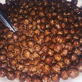 ¡Cereales deliciosos!! Fotografía de archivo libre de regalías