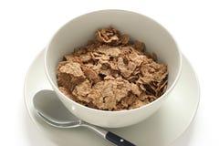 Cereales en un tazón de fuente Fotos de archivo libres de regalías