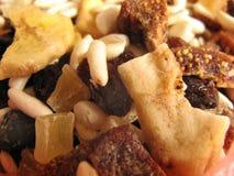 Cereales y frutos secos Imagen de archivo libre de regalías
