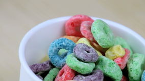cereali stock footage