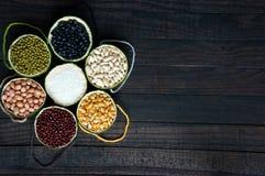 Cereali, alimento sano, fibra, proteina, grano, antiossidante immagine stock libera da diritti