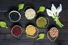 Cereali, alimento sano, fibra, proteina, grano, antiossidante fotografia stock libera da diritti
