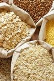 Cereali Assorted Fotografie Stock