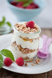 Cereali da prima colazione fotografie stock libere da diritti