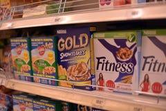 Cereali da prima colazione sani Fotografie Stock