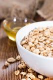 Cereali da prima colazione soffiati del grano Fotografia Stock
