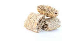Cereali dei fiocchi di frumento Fotografia Stock Libera da Diritti