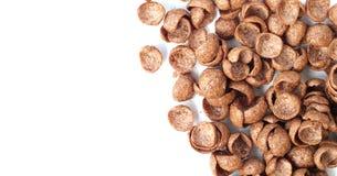 Cereali del cioccolato Fotografie Stock Libere da Diritti