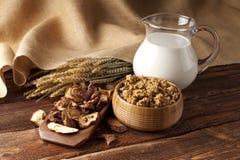 Cereali destinati all'alimentazione sani Fotografia Stock