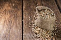 Cereali (grano, segale, orzo, avena e miglio) Immagine Stock Libera da Diritti
