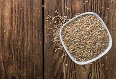 Cereali (grano, segale, orzo, avena e miglio) Immagine Stock