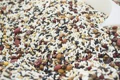 Cereali grezzi Immagini Stock Libere da Diritti