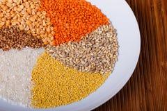 Cereali torti Immagini Stock Libere da Diritti
