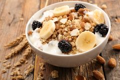 Cereals And Fruit Stock Image