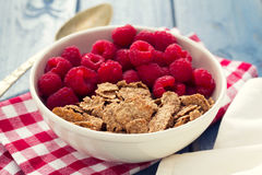 Cereals with berries Stock Photo