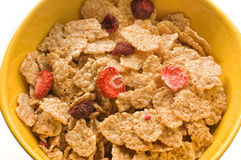 Cereals bowl Stock Image