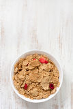 Cereals in bowl Royalty Free Stock Photos