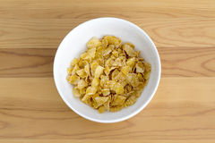 Cereals. Bowl of cereals on the wooden table Stock Photos