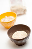 Cereals bowls Stock Photography