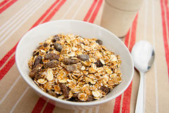 Cereals for breakfast Stock Photos