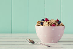 Cereals breakfast Royalty Free Stock Photos