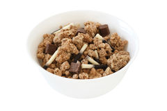 Cereals with chocolate Stock Image