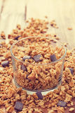 Cereals with chocolate Royalty Free Stock Photos