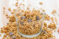 Cereals with chocolate Stock Images
