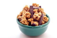 Cereals with chocolate Stock Photo