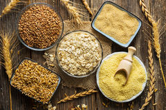 Cereals Collection Royalty Free Stock Images