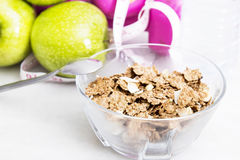 Cereals, diet concept Royalty Free Stock Photo