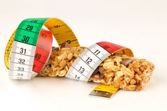 Cereals Fitness bar for diet Royalty Free Stock Photography