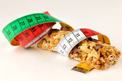 Cereals Fitness bar for diet Royalty Free Stock Image