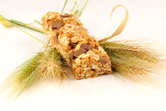 Cereals Fitness bar for diet Royalty Free Stock Images