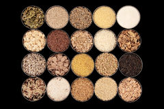 Cereals, Grains and Seeds Stock Photography
