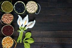 Cereals, healthy food, fibre, protein, grain, antioxidant Royalty Free Stock Photo