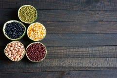 Cereals, healthy food, fibre, protein, grain, antioxidant Stock Image